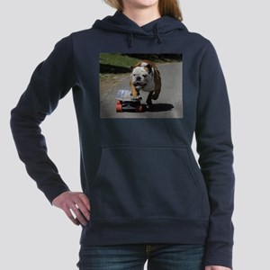 English Bulldog Women's Hooded Sweatshirt