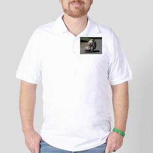English Bulldog Golf Shirt