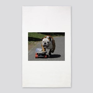 English Bulldog Area Rug
