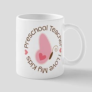 Preschool Teacher (cute) Mugs