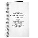 You're Not Coffee Journal