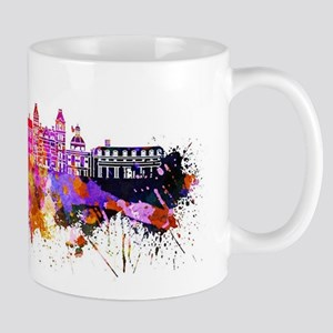 At hens Greece Skyline Mugs