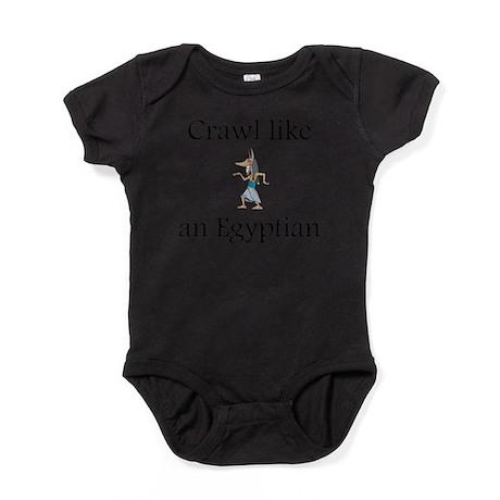 CafePress Crawl Walk Row Body Suit Baby Bodysuit