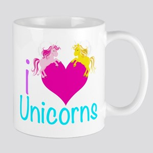 I Love Unicorns Mug