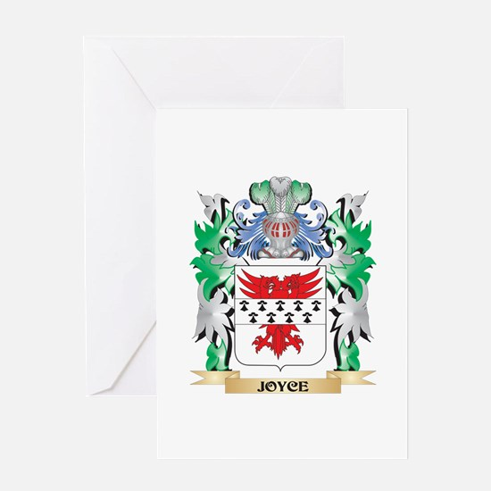 Joyce Coat of Arms - Family Crest Greeting Cards