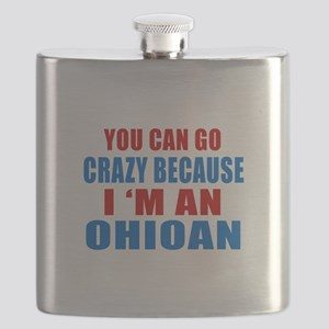 I Am Ohioan Flask