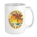 Sanibel Slacker - Large Mug
