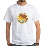 Sanibel Slacker - White T-Shirt