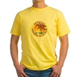Sanibel Slacker - Yellow T-Shirt