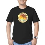 Sanibel Slacker - Men's Fitted T-Shirt (dark)