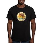 Sanibel Slacker - Men's Fitted T-Shirt (dark)