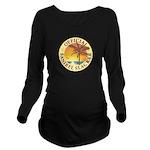 Sanibel Slacker - Long Sleeve Maternity T-Shirt