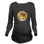 Sanibel Slacker - Long Sleeve Maternity T-Shirt
