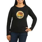 Sanibel Slacker - Women's Long Sleeve Dark T-Shirt