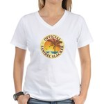 Sanibel Slacker - Women's V-Neck T-Shirt