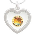 Sanibel Slacker - Silver Heart Necklace