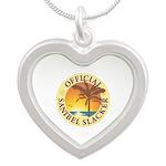 Sanibel Slacker - Silver Heart Necklace