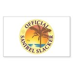 Sanibel Slacker - Sticker (Rectangle 10 pk)