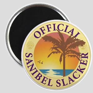 Sanibel Slacker - Magnet