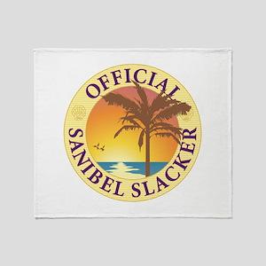 Sanibel Slacker - Throw Blanket