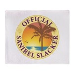 Sanibel Slacker - Throw Blanket