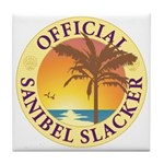 Sanibel Slacker - Tile Coaster