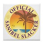 Sanibel Slacker - Tile Coaster