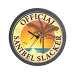 Sanibel Slacker - Wall Clock
