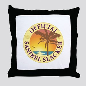 Sanibel Slacker - Throw Pillow