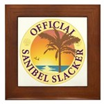 Sanibel Slacker - Framed Tile