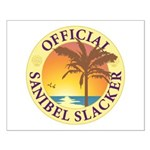 Sanibel Slacker - Small Poster