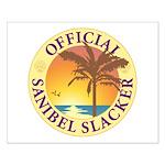 Sanibel Slacker - Small Poster