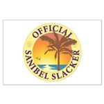 Sanibel Slacker - Large Poster