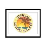 Sanibel Slacker - Framed Panel Print