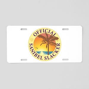 Sanibel Slacker - Aluminum License Plate