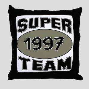 Super Team 1997 Throw Pillow