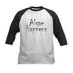 Algae Happens - Kids Baseball Jersey