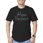 Algae Happens - Men's Fitted T-Shirt (dark)