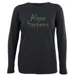 Algae Happens - Plus Size Long Sleeve Tee