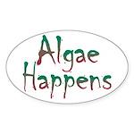 Algae Happens - Sticker (Oval)