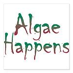 Algae Happens - Square Car Magnet 3