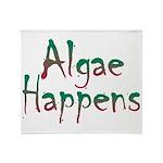 Algae Happens - Throw Blanket