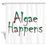 Algae Happens - Shower Curtain