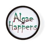Algae Happens - Wall Clock