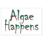 Algae Happens - Large Poster