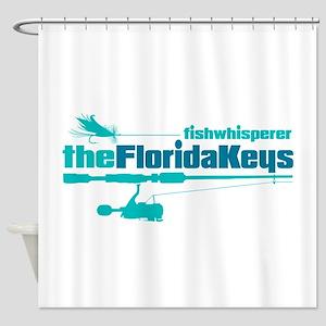 fw Florida Keys Shower Curtain