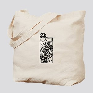 Size Queen 2 Tote Bag