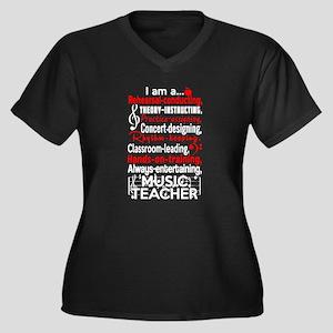 Music Teacher Plus Size T-Shirt