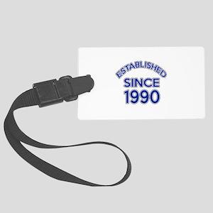 Established Since 1990 Large Luggage Tag
