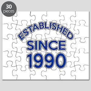 Established Since 1990 Puzzle